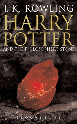 Harry Potter and the Philosopher's Stone Book 1 : Adult Edition:  Amazon.co.uk: Rowling, J. K.: Books
