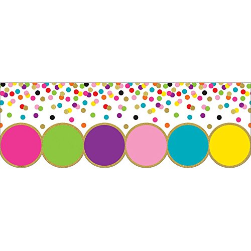 Teacher Created Resources Confetti Big Big Border (TCR8980)