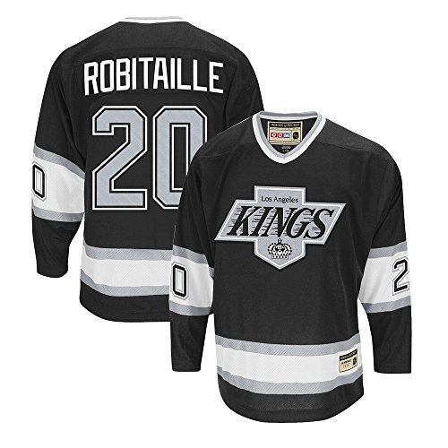 CCM Luc Robitaille Los Angeles Kings Heroes of Hockey Throwback Jersey Men's