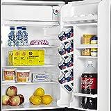 Danby DCR044A2BSLDD-3 4.4 cu. ft. Compact Refrigerator, Steel