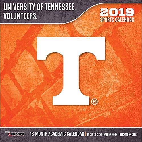 2019 Tennessee Volunteers Wall Calendar, by Turner ()