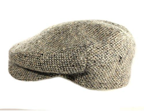 IVY Cap 100% Wool Tweed Tan Fleck Jonathan Richards Irish Made Medium