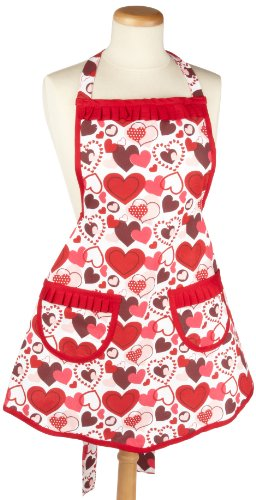 DII Valentine Be Mine Ruffled Apron