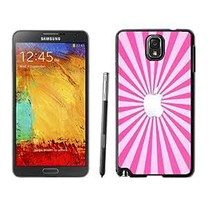NEW Fashion Custom Designed Cover Case For Samsung Galaxy Note 3 N900A N900V N900P N900T Apple Girly Black Phone Case