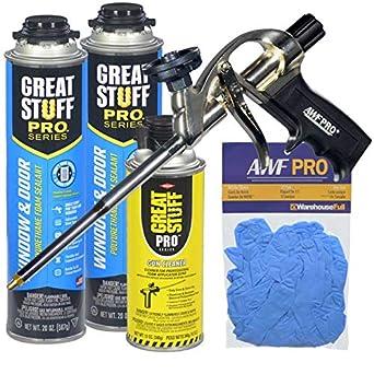 Amazon.com: Dow Gran Stuff Pro ventana y puerta sellador Kit ...