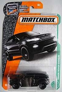 Amazon.com: Matchbox Adventure Range Rover Evoque Black ...