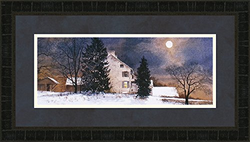 Midwest Art & Frame Cold Night by Hendershot Frame