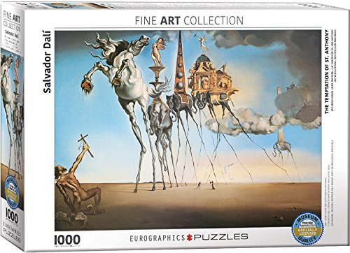 EuroGraphics Salvador Dalí The Temptation of St. Anthony Puzzle (1000 Piece)