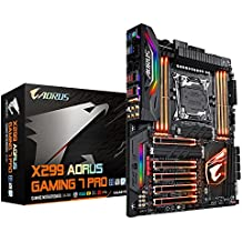 GIGABYTE X299 AORUS GAMING 7 PRO ( Intel LGA 2066 Core i9/ATX/3 M.2/ ESS SABRE 9018 DAC/ USB 3.1 gen 2 Type-C/ Motherboard)