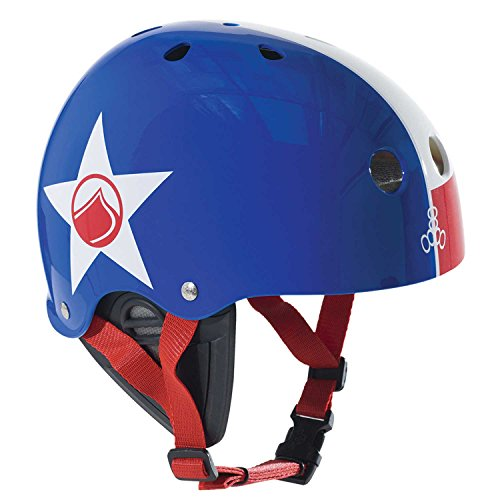 Liquid Force 2016 Fooshee Comp (Red/White/Blue) Slider Helmet