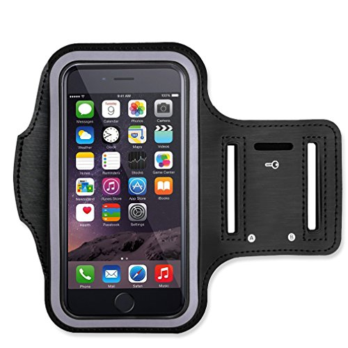 Sport Armband, Esonstyle® Leichtes Sweat Proof Lauftraining Gym Sportband mit Schlüsselhalter für iPhone 6 6s SE und andere 4,7-Zoll-Smartphone (For iPhone 6/6s)