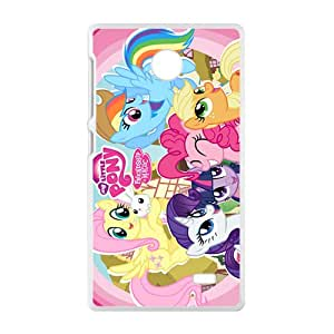 ZXCV Lovely Pony Cell Phone Case for Nokia Lumia X
