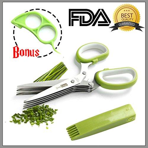 JesitaGear Scissors Stainless Multipurpose Cleaning
