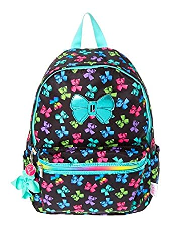 ed7d1d7a2fb50 Claire s JoJo Siwa Bow Print Backpack  Amazon.co.uk  Clothing