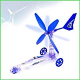 Children's Educational Diy Wind Energy Power Car, Scientific Experiment Toys