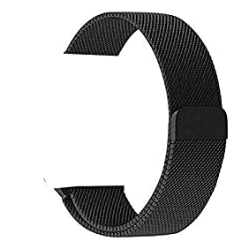 OROBAY Replacement Band for Apple Watch 42mm, Stainless Steel Mesh Loop Strap with Strong Magnetic Closure Clasp for Apple iWatch Sport & Edition