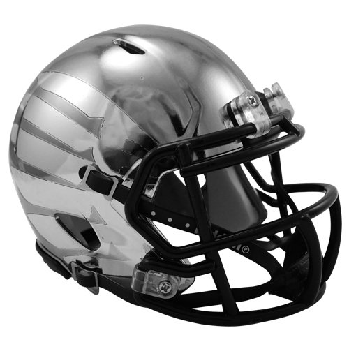 Oregon Ducks 2012 Rose Bowl Game Chrome Liquidmetal Speed Mini Helmet by Riddell