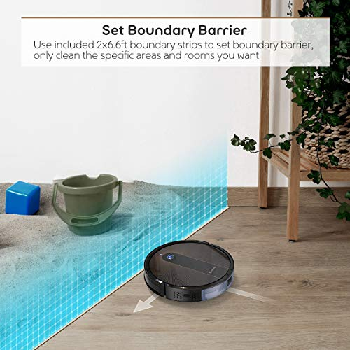 Coredy R750 Robot Vacuum Cleaner, Compatible with Alexa, Mopping System, Boost Intellect, Virtual Boundary Supported… 7