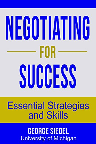 Amazon negotiating for success essential strategies and skills negotiating for success essential strategies and skills by siedel george j fandeluxe Choice Image