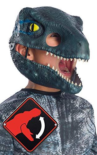 Rubie's Jurassic World: Fallen Kingdom Velociraptor Movable Jaw Child Mask]()