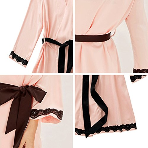 ZLR Autumn Winter Lady Sleep Robe Self-cultivation Sexy Pigiama Abbigliamento casa Accappatoio ( dimensioni : L. )
