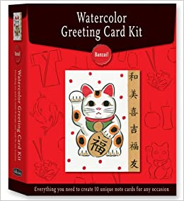 Banzai how to paint your own greeting cards in watercolor how to paint your own greeting cards in watercolor watercolor greeting card kits diana fisher 9781600580703 amazon books m4hsunfo