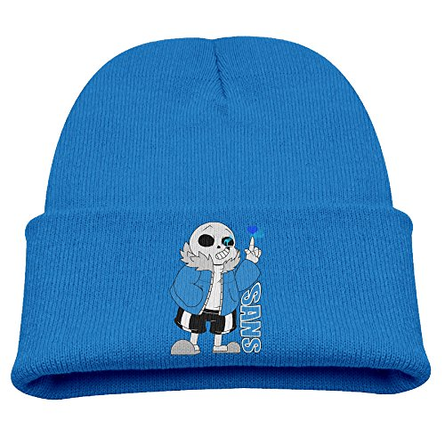 ACMIRAN Sans Undertale Role-playing Video Game Character Unisex Hip Hop Hat One Size RoyalBlue