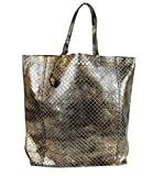Bottega Veneta Gold and Black Intrecciomirage Leather Tote Bag 298779 8414 Reviews (Free Shipping Available)