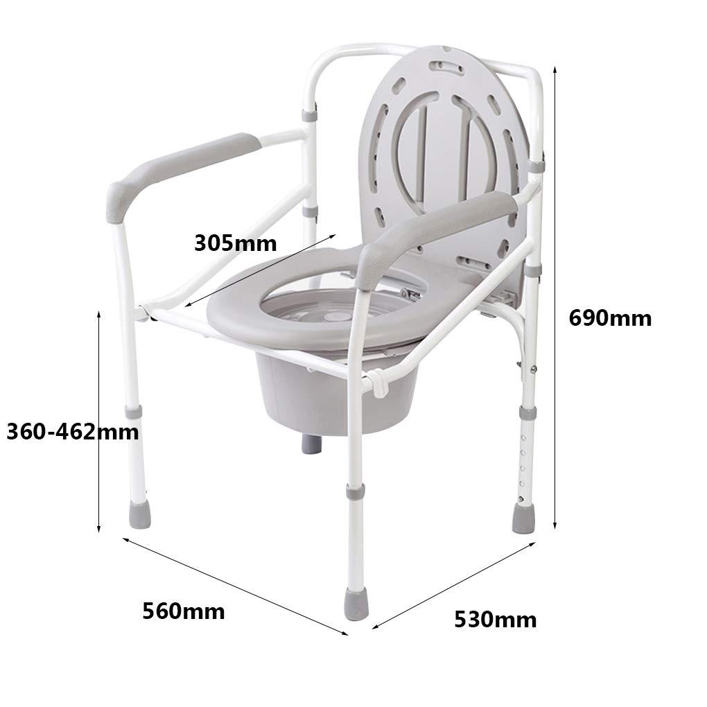 MMZZ Toilet Chair Sillones Tipo sillón, Silla de Inodoro ...