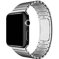 VcareGadGets Black Matte Skin for Apple Watch 42mm (Black Matte)