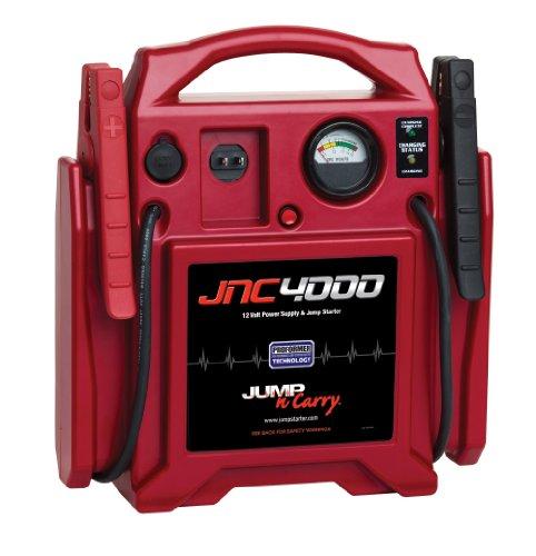 Jump-N-Carry JNC4000 1100 Peak Amp 12V Jump Starter ()