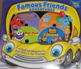 Famous Friends Adventures - Clifford the Big Red Dog: Thinking Adventures, Blues Clues: Blues Birthday, Putt-Putt Saves the Zoo, and Bob the Builder: Can We Fix It?