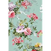 Bullet Journal: Beautiful Roses Botanical Pattern - Vintage Floral Print - Bullet Journal  | Dot Grid Pages (Journal, Notebook, Diary, Composition Book)