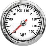 Speedhut GL26-DT02M Diff Temp Gauge 60-150C, 2-5/8''