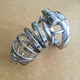 ccTina Hot Metal Cock Rings Stainless Steel Chastity Cage Sex Toys For Men Dick Ring Penis Bondage Male Chastity Device Cock Cage
