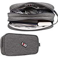 BUBM Universal Electronics Accessories Organizer, Travel Gadget Carry Bag(Large, Grey)