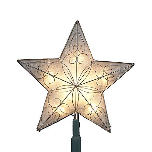Kurt Adler 10 Light Indoor UL Star Treetop (Christmas Star Tree Topper)