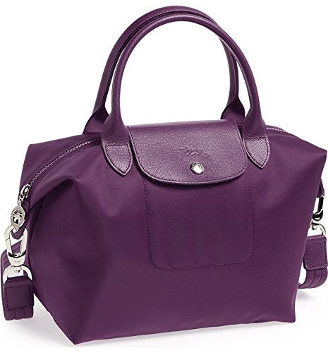 Longchamp Small Handbag - Le Pliage Neo - Bilberry by Longchamp