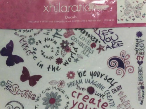 xhilaration-wall-decals-girls-bedroom-wall-decor-hearts-and-butterflies