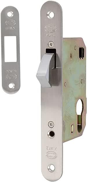 Amig 14334 - Cerradura mod.501-50 cromado mate: Amazon.es: Bricolaje y herramientas