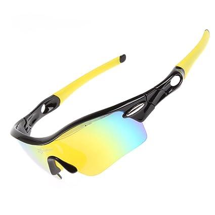Amazon.com: RockBros Bicicleta Ciclismo anteojos polarizadas ...