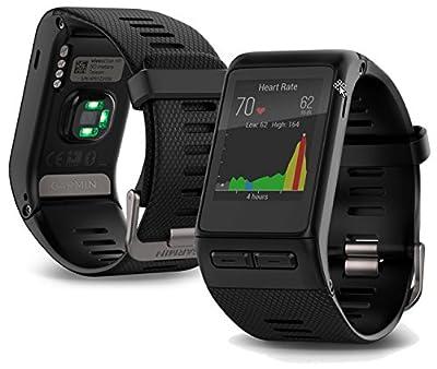Garmin vivoactive HR GPS Smart Watch, Regular fit - Black