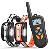 Zukaly Shock Collar with Remote, 1800ft Shock Collar for Dog...
