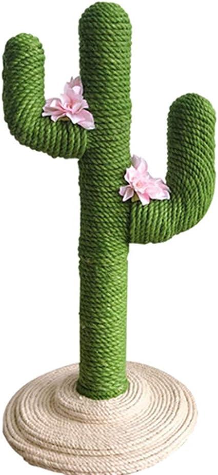 Pet Cuadro de Escalada para Gato de Cactus, Tablero Rayado ...