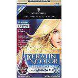 Schwarzkopf Keratin Color Care Lighteners Permanent Hair Color Cream, Light Blonde