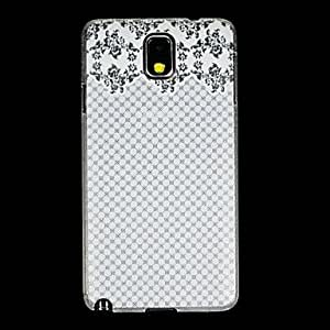 LIMME ships in 48 hours Square Shape Back Cover Transparent Plastic for The Samsung GALAXY Note 3