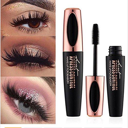 Ginkago 4D Fibra de Seda Pestañas Extensión de pestañas Maquillaje Negro Impermeable Kit de pestañas