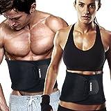 KRITAM Unisex Sweat Slim Belt For Fat Burner & Fat Cutter Sliming Belt Freesize(ORIGINAL)