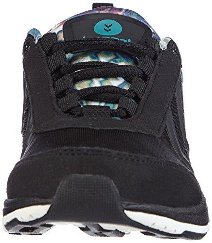 Hummel HUMMEL TRAINSTAR - Zapatillas deportivas para interior de material sintético mujer negro - negro (Black 2001)