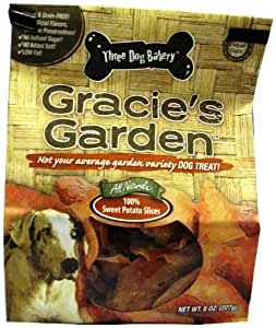 Amazon.com : 3 Dog Bakery Gracies Garden Dog Treat Sweet